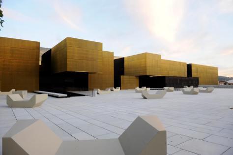 Plataforma das Artes e da Criatividade - praça exterior